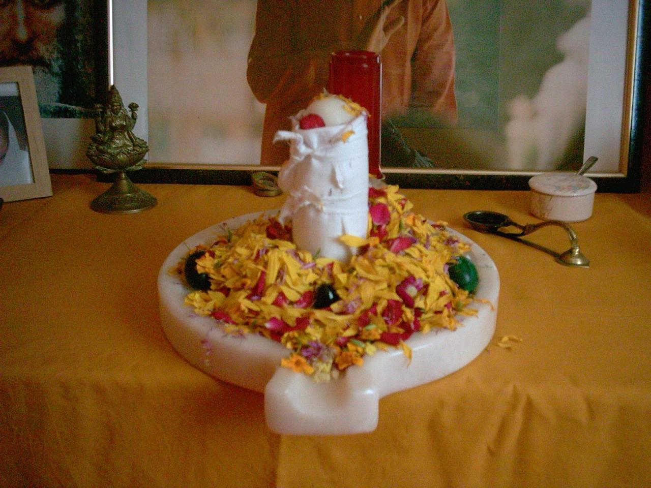 Lingam de Swami Ajay